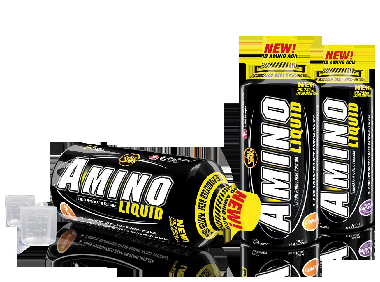 All Stars Amino liquid butelių vaizdas