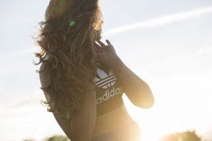 Sportiška mergina