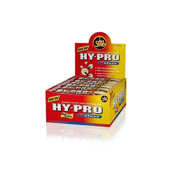 All Stars Hy-Pro baltyminių batonėlių dėžutės vaizdas