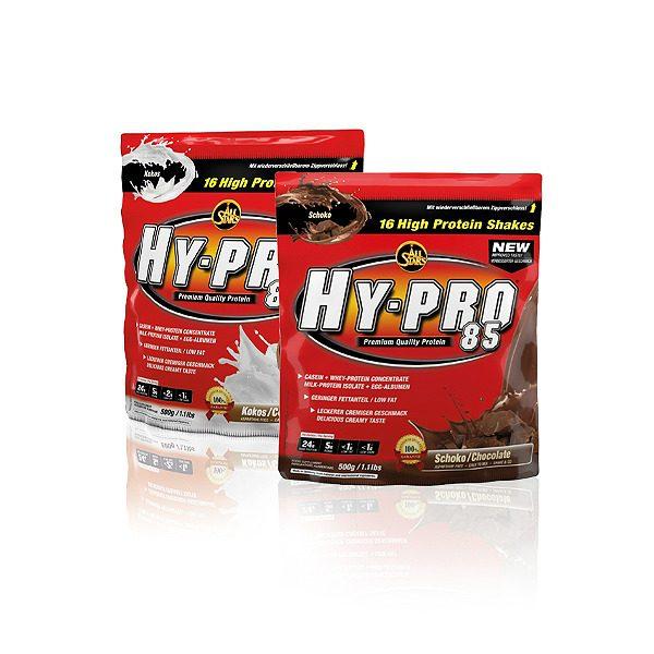 All Stars Hy-Pro 85 baltymų pakuočių vaizdas